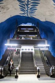 斯特哥尔摩的地铁