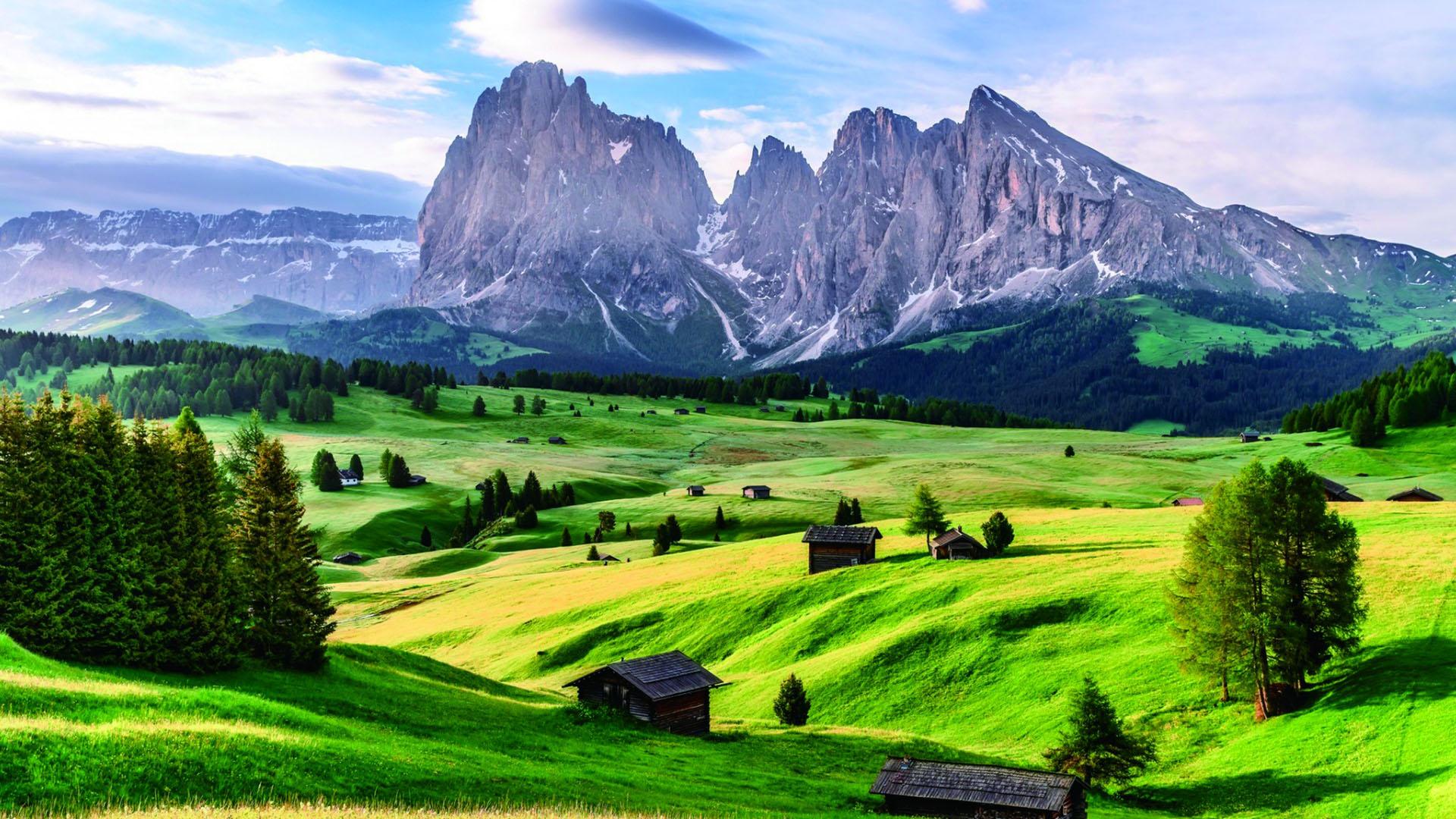 意大利南蒂罗尔—风景图片—美图美秀
