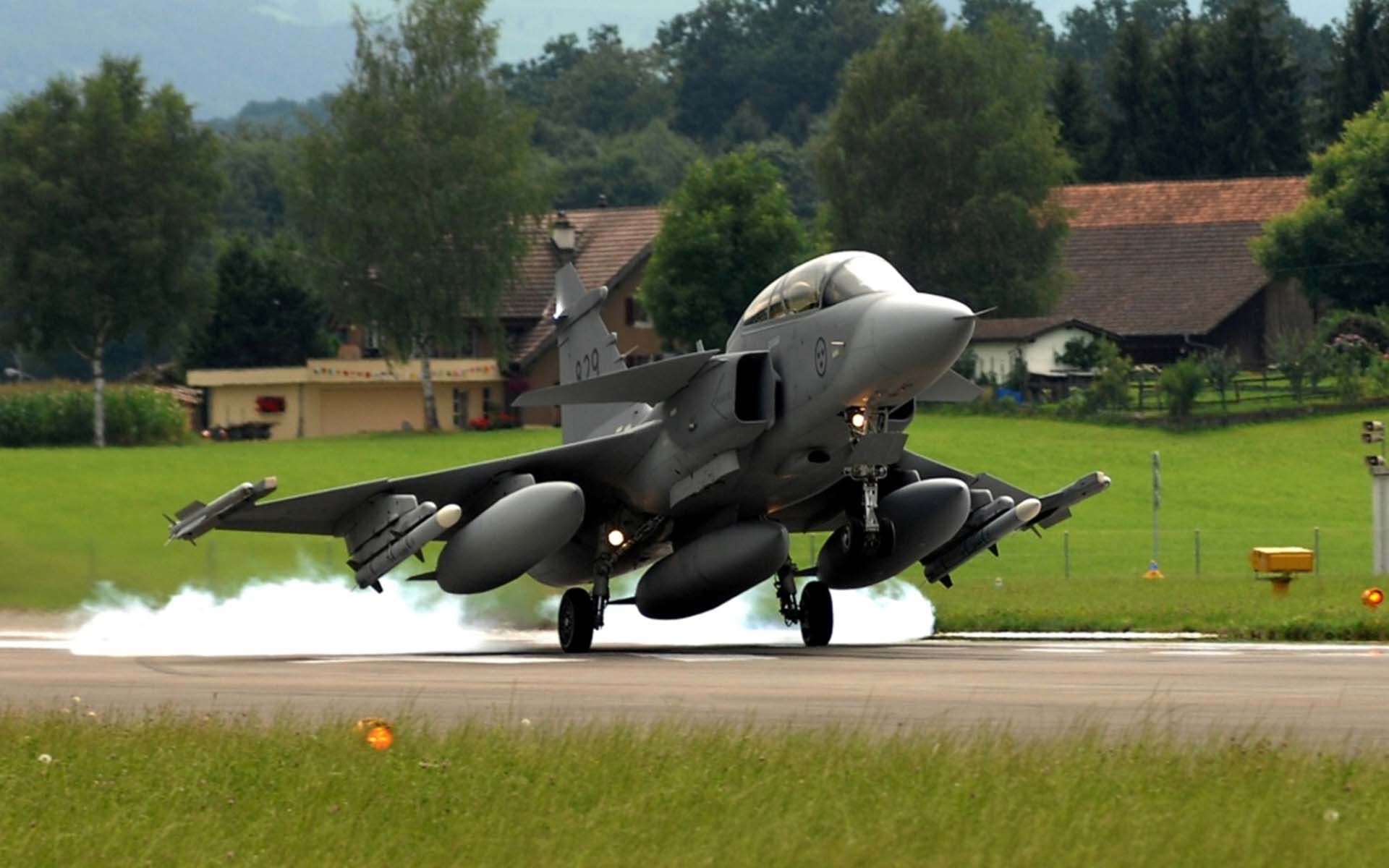 瑞典JAS-39鹰狮战斗机