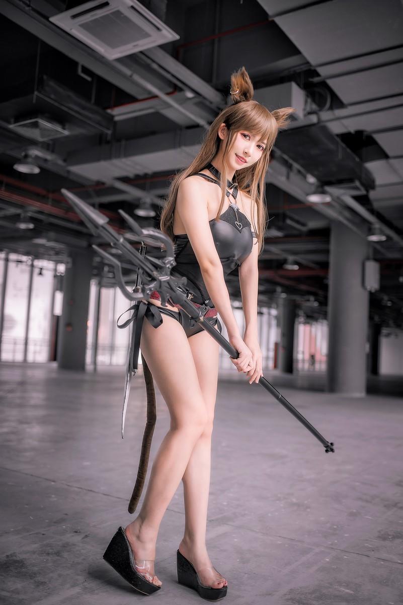 鳗鱼霏儿—明日方舟cosplay